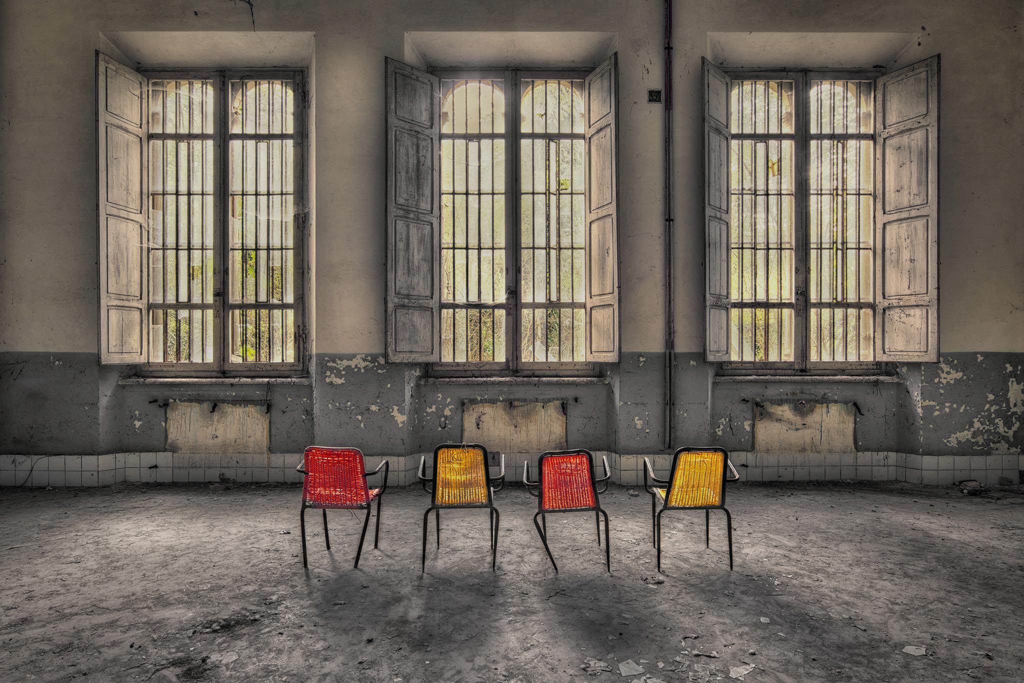 Aufnahmen alter, verlassener Gebäude © Madeleine Heinz