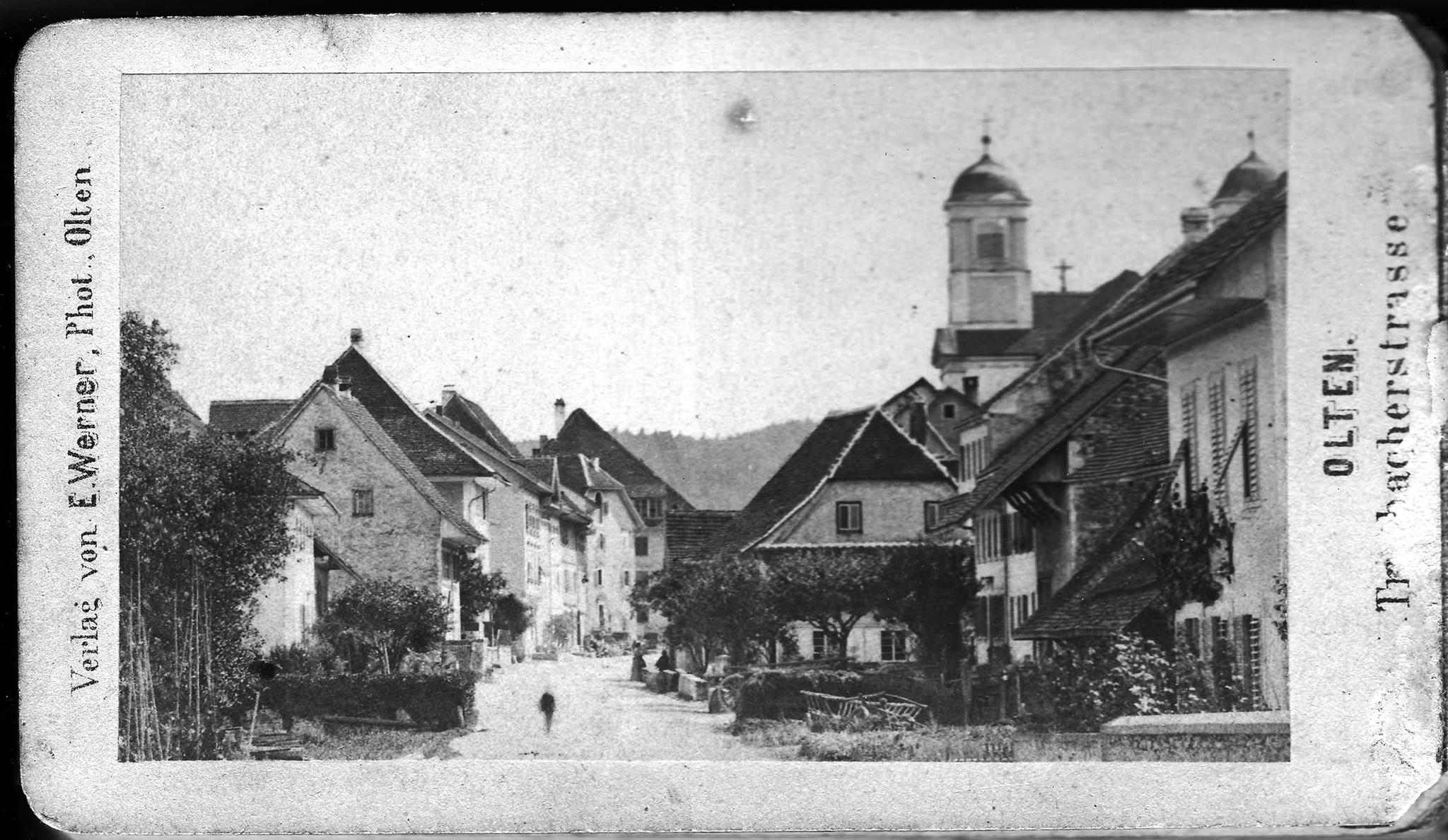 Olten, Trimbacherstrasse (heute: Baslerstrasse)
