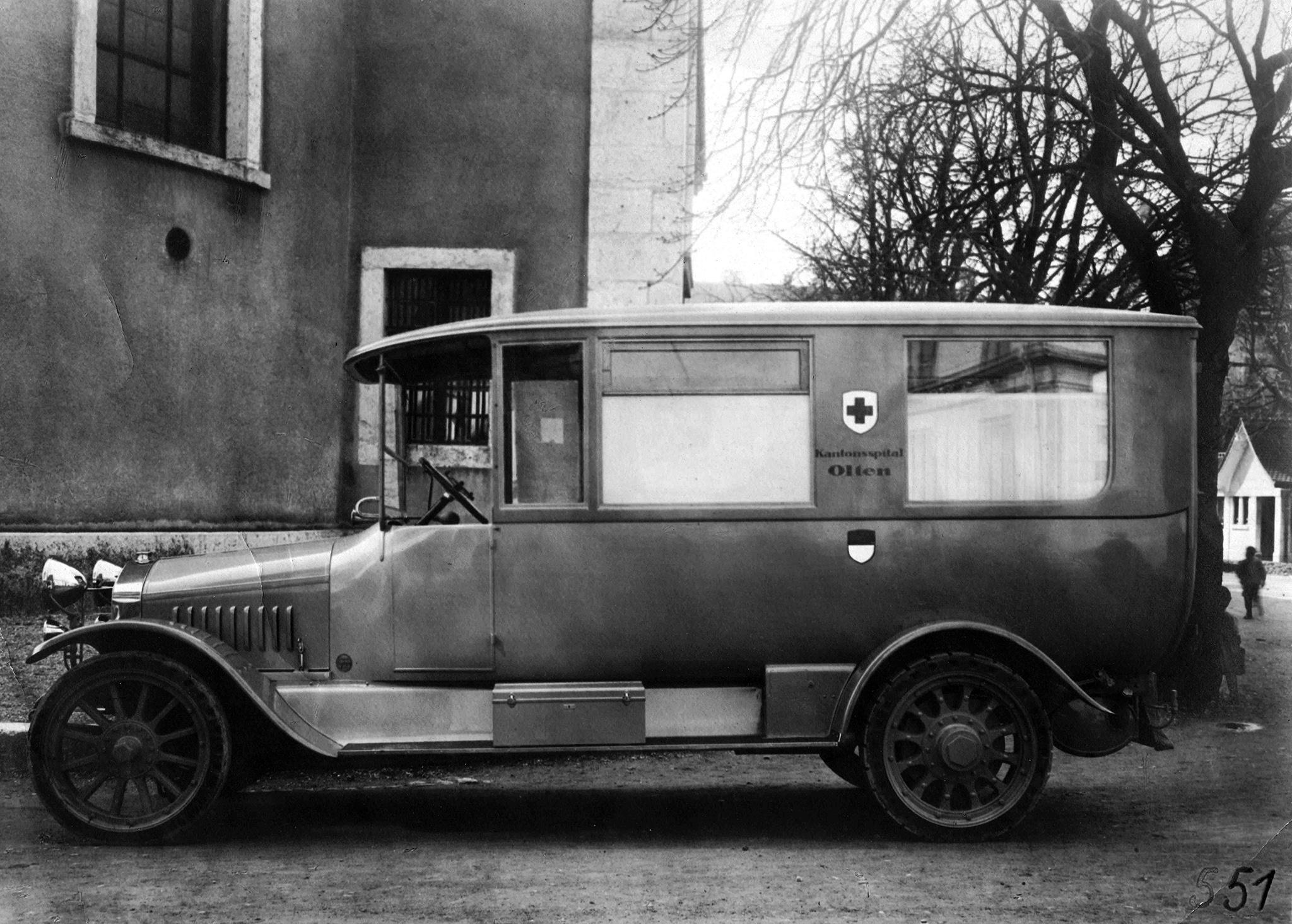 Berna. Krankenwagen Kantonsspital Olten