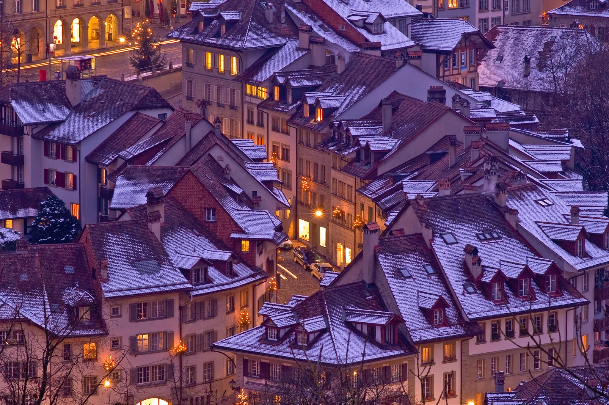Berner Altstadt in der Weihnachtsstimmung, August 2005, Konica Minolta Photo World (Fotocontest Städteansichten - Städteimpressionen)Zweites Siegerfoto